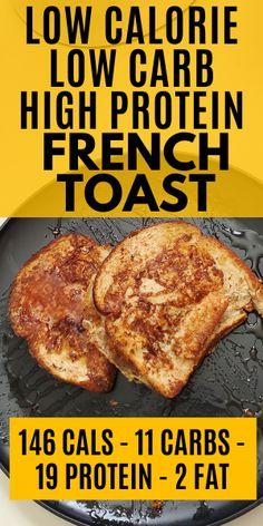 Healthy High Protein Meals, High Protein Breakfast, High Protein Low Carb, Healthy Breakfast Recipes, High Protein Dinner, Protein Dinners, High Protein Bariatric Recipes, Low Carb Macros, High Protein Desserts