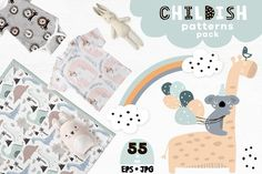 Ad: Childish patterns pack vol. 3 by solmariart on Childish patterns pack - pastel colors! Awesome graphic patterns kit for baby and kids apparel design. You can find here so many Graphic Patterns, Cool Patterns, Simplicity Patterns, Vector Pattern, Pattern Design, Creative Sketches, Paint Markers, Art Design, Graphic Design