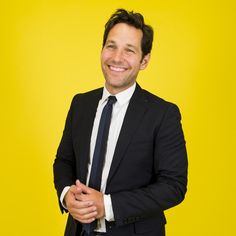 Paul Rudd's Honest Opinions On 14 Random Things - I already bought my ticket for Ant Man - first show on Friday!