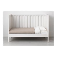 BUSUNGE Extendable Bed   IKEA. Get In WHITE For Lincoln When He Moves From  Crib To Toddler Bed? It Extends Into A Twin, Too! | Little Big Man |  Pinterest ...