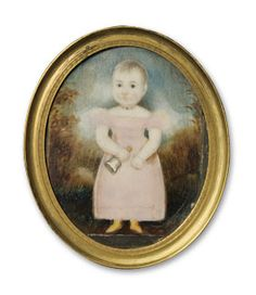 Abraham Parsell (1791-1856), attributed, Miniature Portrait of William Bruen, ca. 1835. Watercolor on ivory. Courtesy of the New Jersey Historical Society.