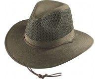 d803fbe55ca Henschel Hat - Olive Aussie Breezer - Polycotton Twill