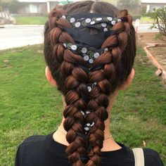 teenage hairstyles for school Website Teenage Hairstyles For School, Braided Hairstyles For School, Cute Hairstyles For Teens, Pigtail Hairstyles, Pigtail Braids, Teen Hairstyles, Trending Hairstyles, Little Girl Hairstyles, Braided Pigtails