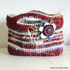 Rag Basket by laughingpurplegoldfish, via Flickr