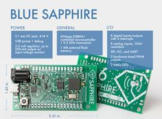 BLUE SAPPHIRE: An open source, wireless hardware and software platform for connecting anything to everything.  A Kickstarter campaign.