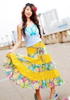 boho hippie fashion | EMS Free Shipping Mixed Wholesale fashion New Gypsy Boho Hippie Cotton ...