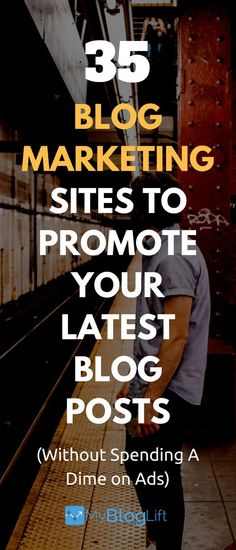 Don't close the browser window once you hit publish. Here are 35 amazing sites to promote your latest articles and get more traffic for free.  35 Places to Promote Blog Posts Once You Hit Publish