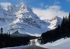 Icefields Parkway - 144 miles long links the ski resorts of Banff and Jasper in Alberta. http://www.icefieldsparkway.ca/