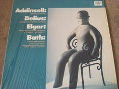 "Addinsell Warsaw Concerto & Works By Elgar, Delius & Bath / Hamburg Symphony / Walther Jurgens / 12"" Vinyl LP Record #Classical"