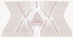 Maiô/Body de Crochê - receita e gráfico