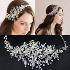 Silver Headbands Hair Bands For Brides Hot Sale Cheap Crystal Rhinestone Beach Wedding Jewelries Accessories Bohemian Party Prom Headpieces Online with $30.5/Piece on Sarahbridal's Store | DHgate.com
