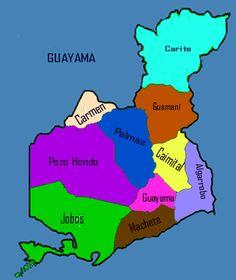 Barrios of Guayama, Puerto Rico