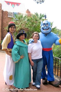 Capturing Magical Memories: Mister Aladdin, sir, have a wish or two or three... a Disney Encounter