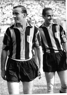 1963 Luis Suarez con Mario Corso