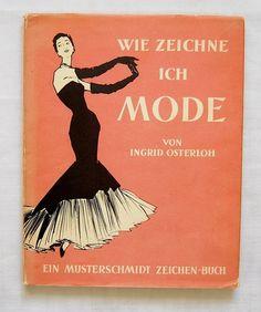 Wie zeichne ich Mode? 50er Jahre