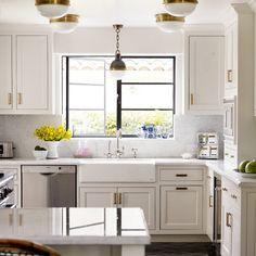Get the Look: Brass Kitchen Cabinet Pulls   Kitchn