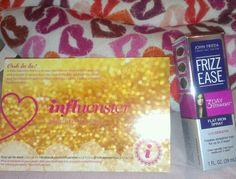 My John Frieda 3 day straight spray in my #jadorevoxbox from #influenster #3daysstraightlove