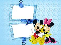 CHIARA - Molduras Digitais: Molduras, Máscaras, Frames, Infantis - Disney