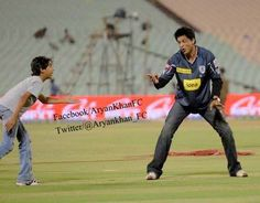 cricket with Aryan