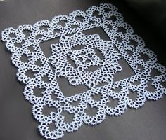 """wow! ""......... A Jan Stawasz doily from More Robotki"