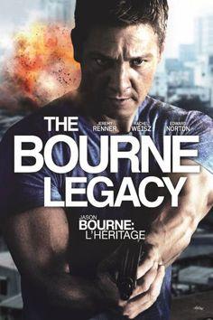 The Bourne Legacy  Description: De scenarist van de vorige Bourne-films Tony Gilroy regisseert het vervolg op deze enorm populaire reeks spionagefilms: The Bourne Legacy. Jason Bourne heeft de vuile was van de illegale clandestiene programma's Treadstone en Blackbriar buiten gehangen. Om zich in te dekken besluit de top van de samenzwering om de overgebleven agenten permanent uit te schakelen. Onder hen bevindt zich Aaron Cross (Jeremy Renner) afkomstig van het Outcome programma die samen…