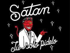 Satan, satanas, belcebu.