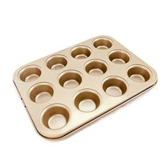 Blackhorse 12cup Nonstick Whoopie Pie Muffin Bakeware Pan Gold >>> Want to know more, click on the image.