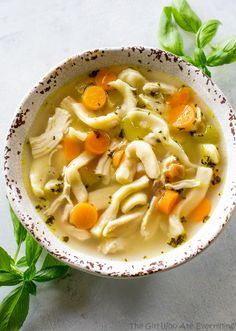Share Tweet Pin Mail This Homemade Chicken Noodle Soup is a tried and true comfort food. I've included an easyrecipe for homemade noodles that ...