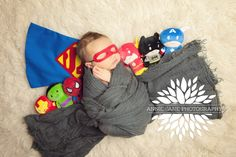 superman newborn baby