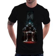 Camiseta Camisa Game Of Thrones - Lobo