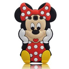 Minnie mouse phone case. Perfect for my galaxy S3 :)