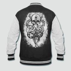 Cthulu Varsity Jacket by WearsoftheDead on Etsy, $66.99