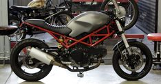 CafeRacerDreams: Ducati Monster 695 by Cafe Racer Dreams Ducati Cafe Racer, Inazuma Cafe Racer, Cafe Racer Helmet, Cafe Racer Girl, Custom Cafe Racer, Cafe Racer Bikes, Cafe Racers, Ducati 600, Ducati Desmo