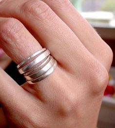 Signature Stacking Rings - Set of 5