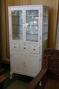 vintage medicine cabinet - Google Search