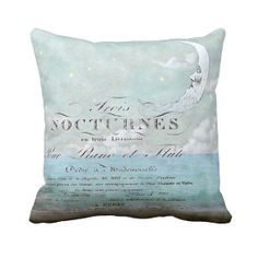 Moonlight pillow cover by Jolie Marche