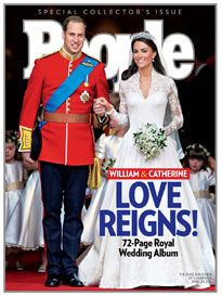 This could be things and people I love ... People magazine and William and Kate :)