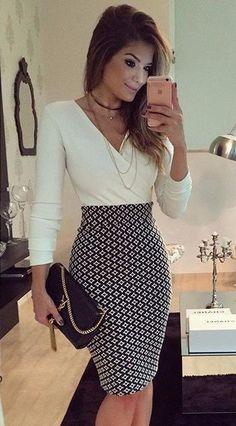 Vestido Branco Evening Midi