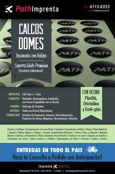 - #Domes - #Calcos Resinados - Producimos Calcos Resinados con Relieve en soporte de vinilo #Premium (Excelente Adherencia), con Resina Flexible, Cristalina y Ecológica. Aplicable en Artículos de Promoción, Carpetas, Electrodomésticos, Productos de oficina, Máquinas, Herramientas, Vehículos, y otros.  | #Stickers | #Etiquetas | #Imprenta | #Print | #BuenosAires |