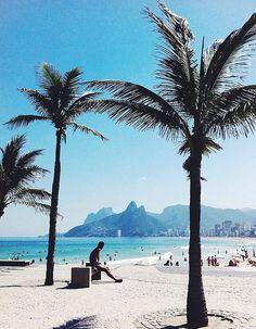 Ipanema Beach, au Brésil
