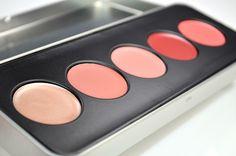 Stila Color Me Pretty Convertible Color Lip & Cheek Palette - Review & Swatches: Gerbera, Kitten, Peony, Petunia & Rose