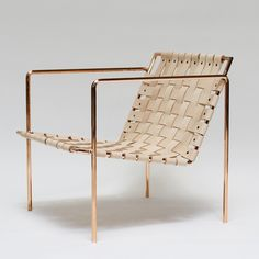 Gorgeous statement chair by Eric Trine.