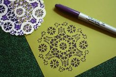 Uses for paper doilies