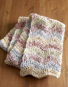 Brilliant Ripple Scarf (Crochet)