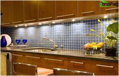 Flise i køkkenet interiør (forklæde) - 3