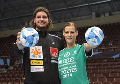 Anita Görbicz and László Nagy, two brilliant players