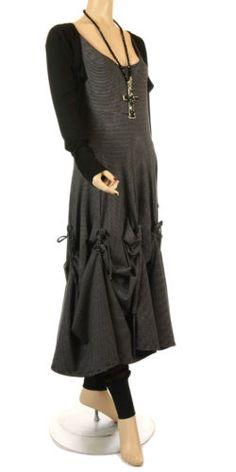 NEW SEASON FANTABULOUS LAGENLOOK STRIPE TIE DRESS Size 3 (uk 14/16)