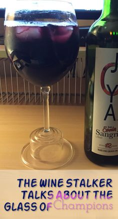 Joey Casco The Wine Stalker presents the 24 Oz Giant Wine Glass of Champions in a Video Review https://www.youtube.com/watch?v=atyj1y13_NI #wine #glass #red #sangria #video #winelover
