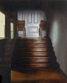 Gina Heyer Stairs, Oil, Gallery, Artwork, Painting, Home Decor, Stairway, Work Of Art, Decoration Home