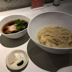 昆布つけ麺 at Japanese Ramen Noodle Lab Q  #66  旨し 平岡アングル美味そうでしょ 美味いんよ 限定2ボタンで販売中 多分今日までの提供()/